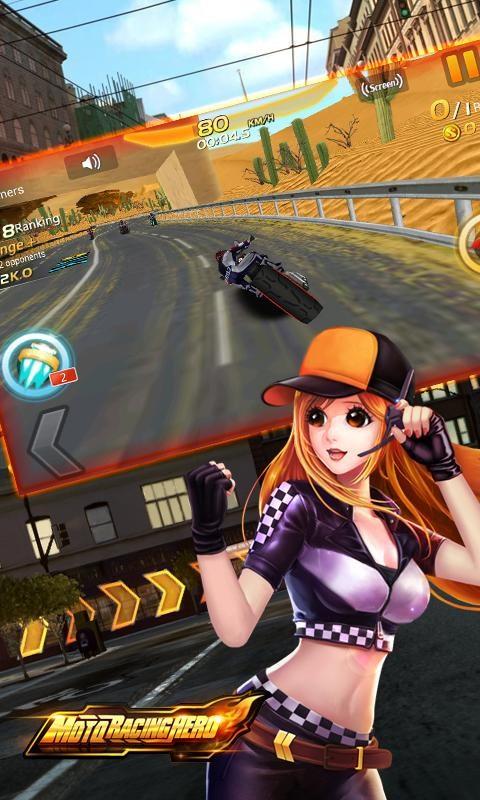 Moto Racing Hero - Imagem 1 do software