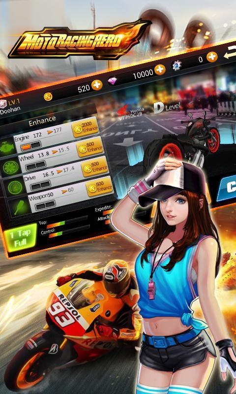 Moto Racing Hero - Imagem 2 do software
