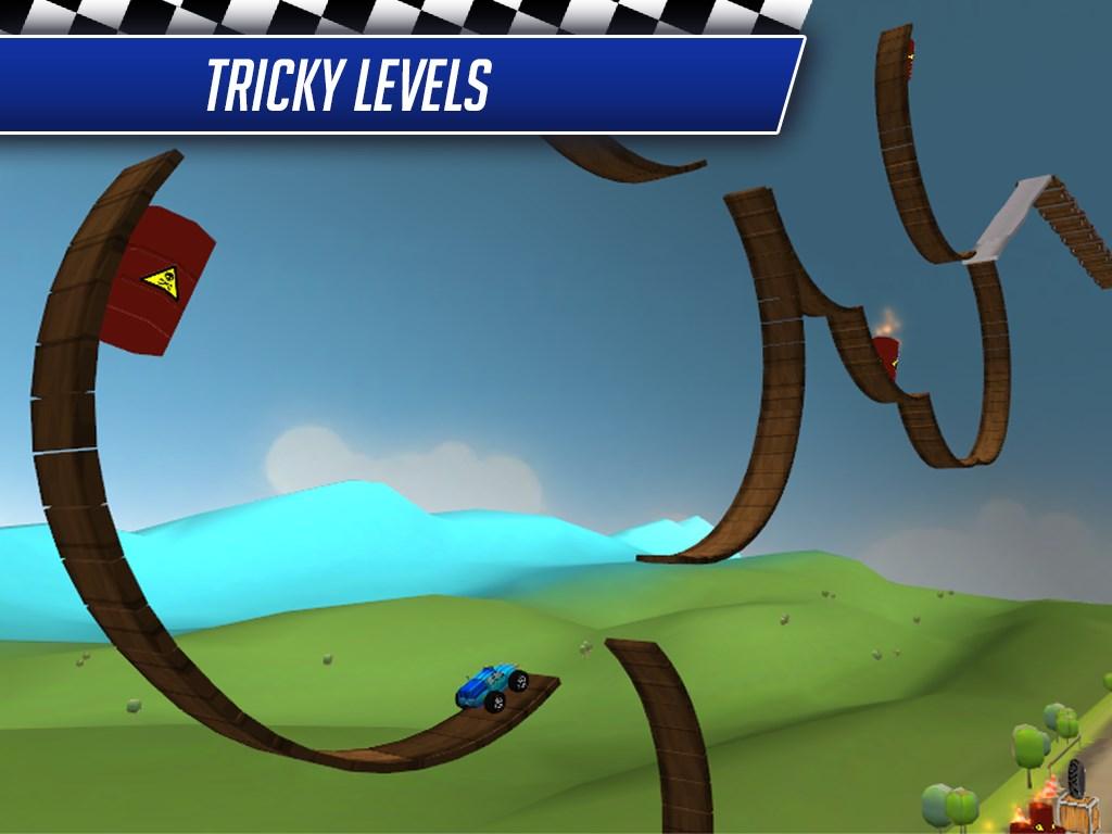 Monster Car Stunts Racing - Imagem 1 do software