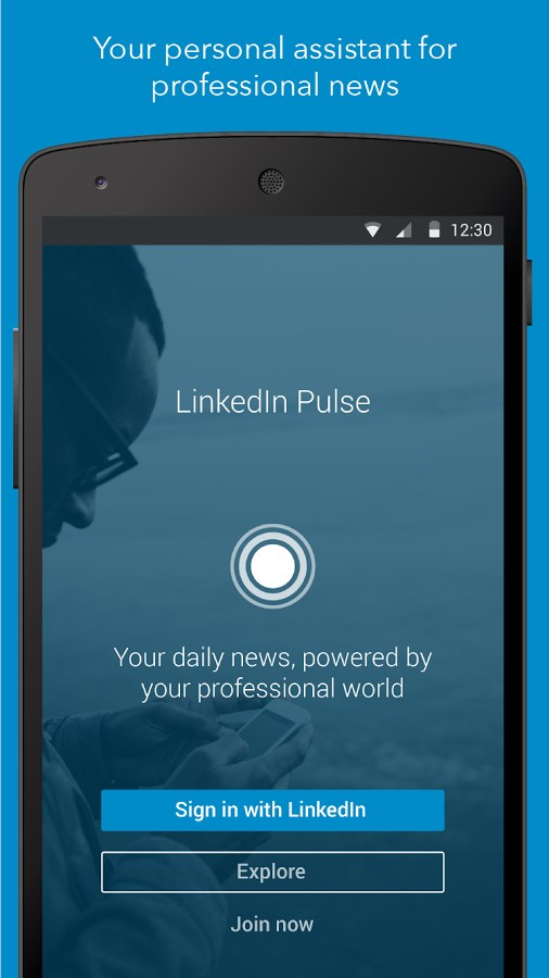 LinkedIn Pulse - Imagem 1 do software
