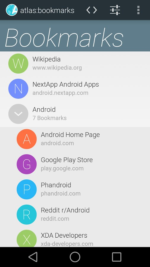Atlas Web Browser Download to Android Grátis