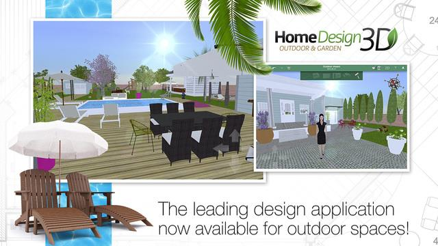 Home Design 3D Outdoor & Garden - Imagem 1 do software