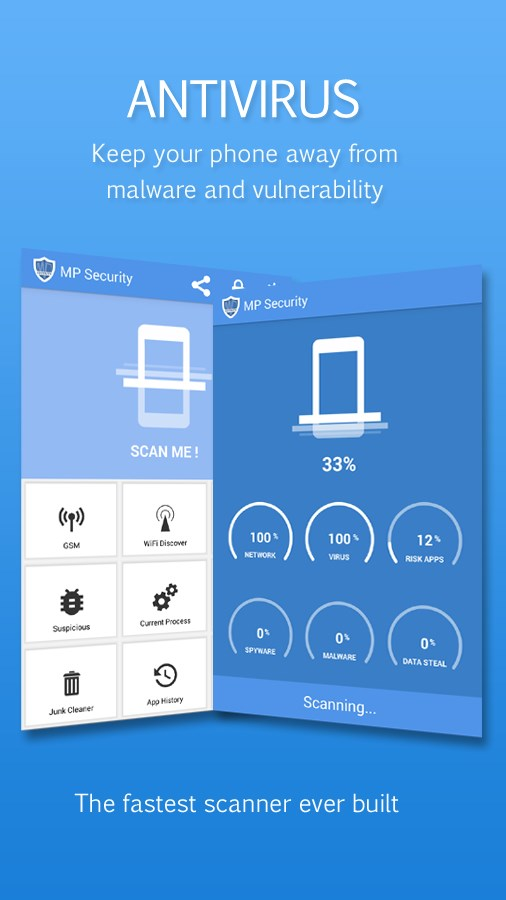 MP Security Antivirus App lock - Imagem 1 do software