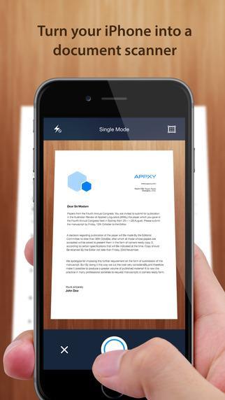TinyScan - Imagem 1 do software