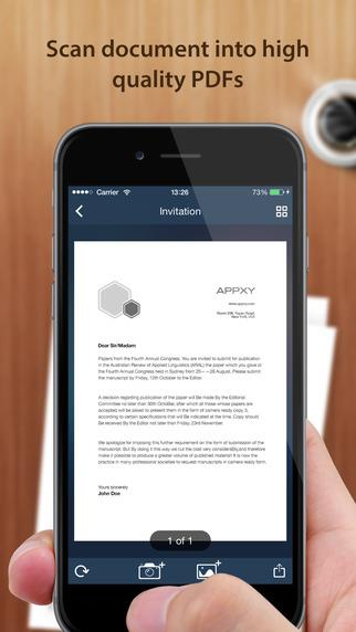 TinyScan - Imagem 2 do software