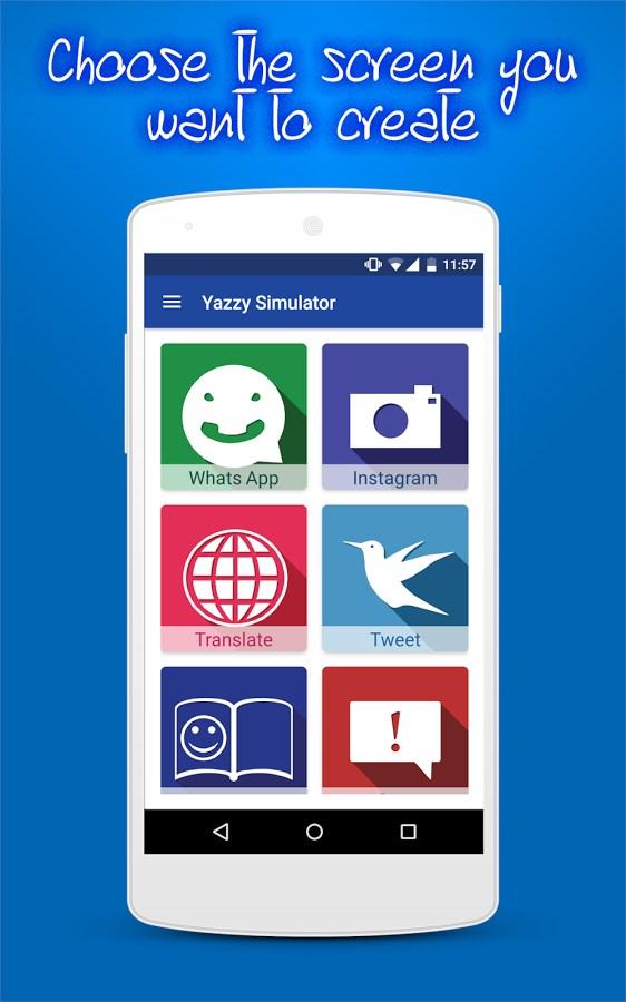 Yazzy Simulator (Fake chat) - Imagem 1 do software