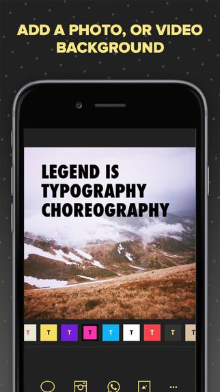 Legend - Animate Text in Video & GIF - Imagem 2 do software