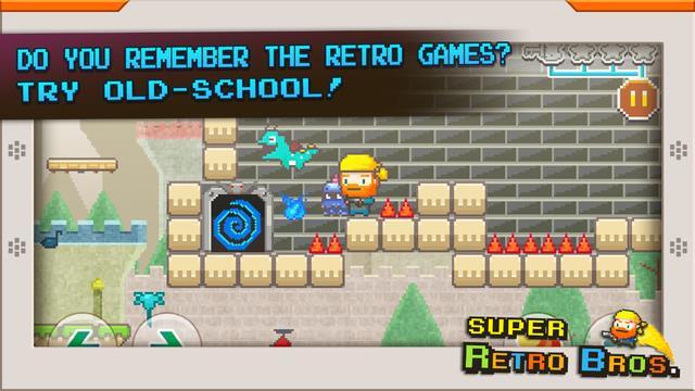 Super Retro Bros. - Imagem 1 do software