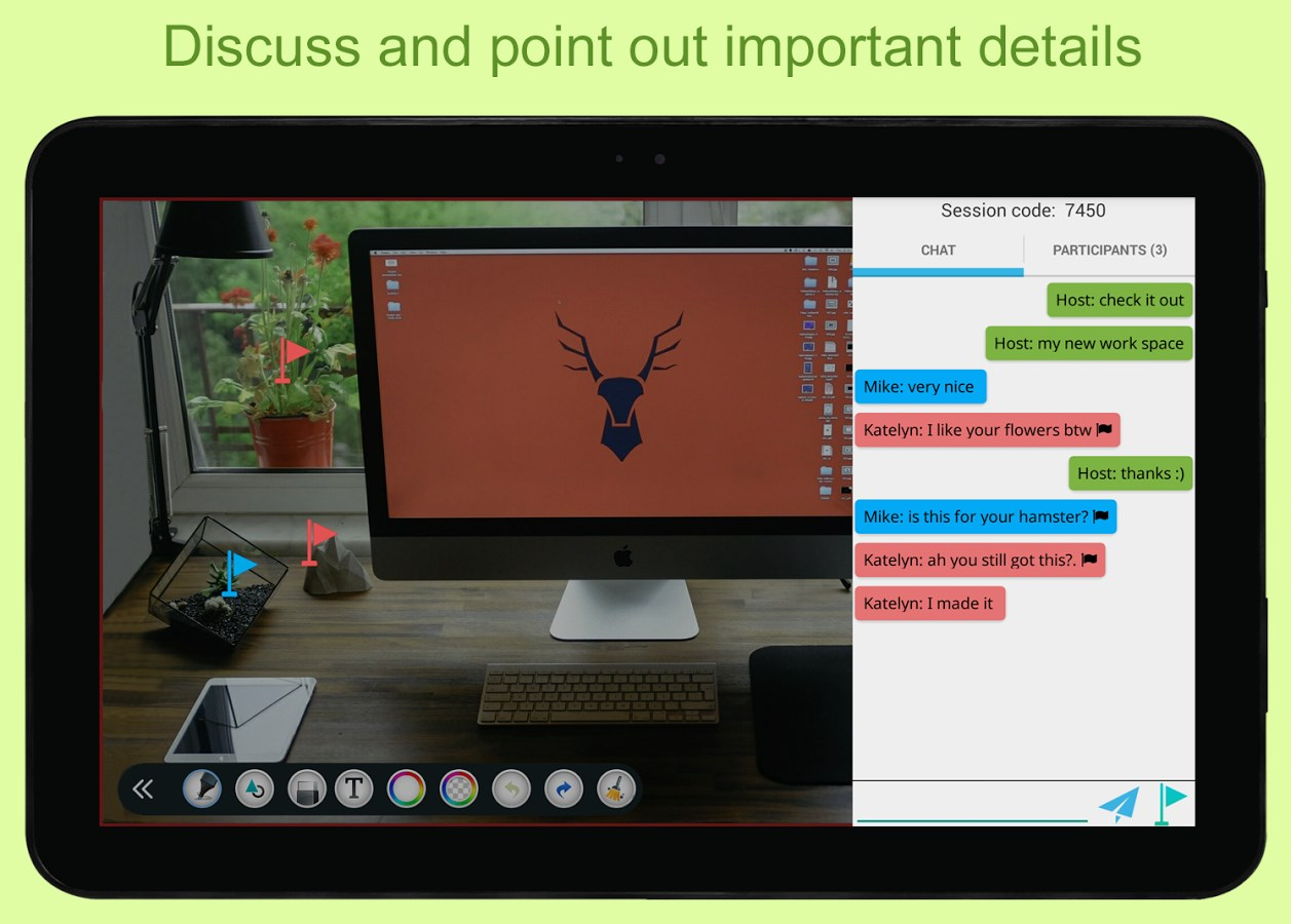 LiveBoard: RealTime Whiteboard - Imagem 1 do software