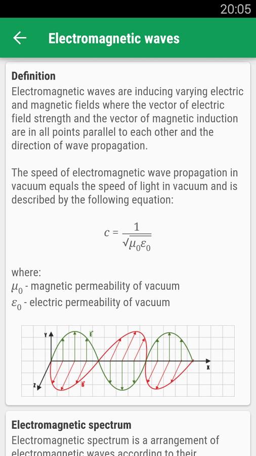 Pocket Physics - Imagem 1 do software