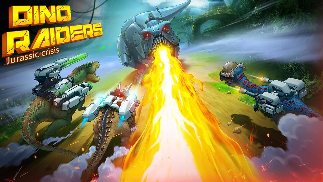 Dino-Raiders: Jurassic Crisis - Imagem 1 do software