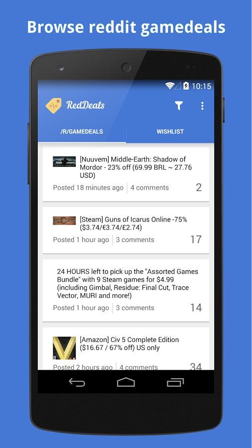 RedDeals - Imagem 1 do software