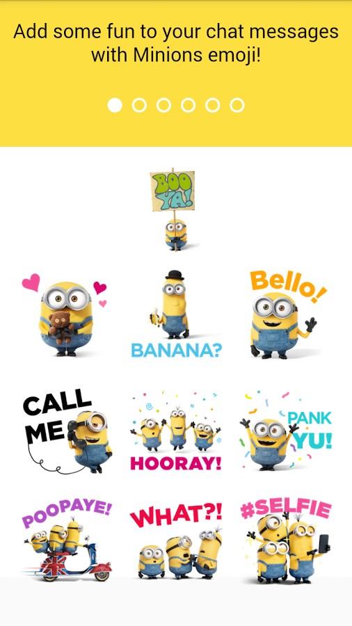 Minions Emoji - Imagem 1 do software