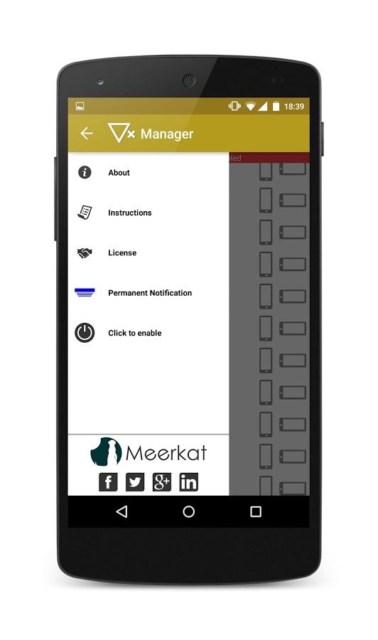 Rotation Manager - Control ++ - Imagem 2 do software