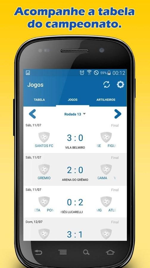Brasileirão 2016 - Imagem 2 do software