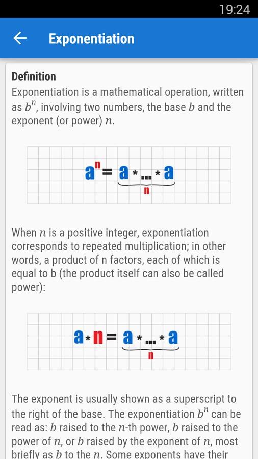 Pocket Mathematics - Imagem 2 do software