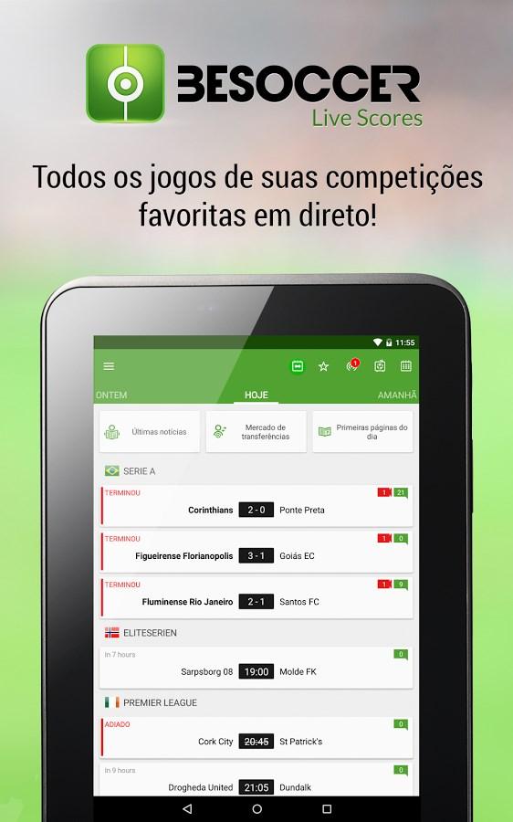 BeSoccer - Resultados futebol - Imagem 1 do software