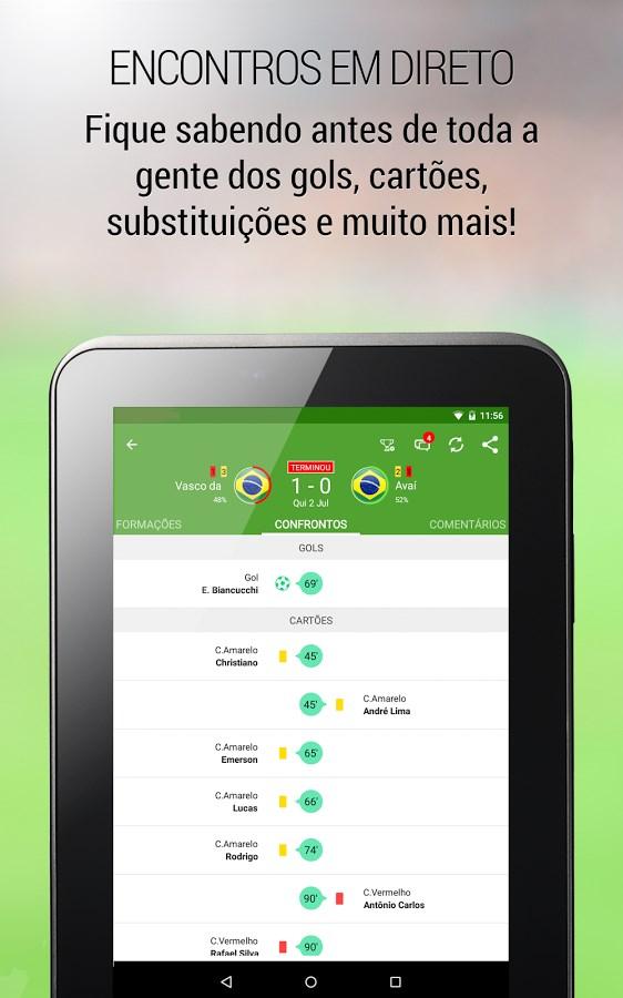 BeSoccer - Resultados futebol - Imagem 2 do software