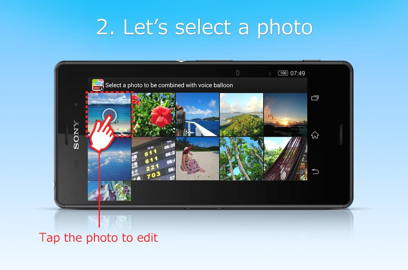 balloon photo(beta) - Imagem 3 do software