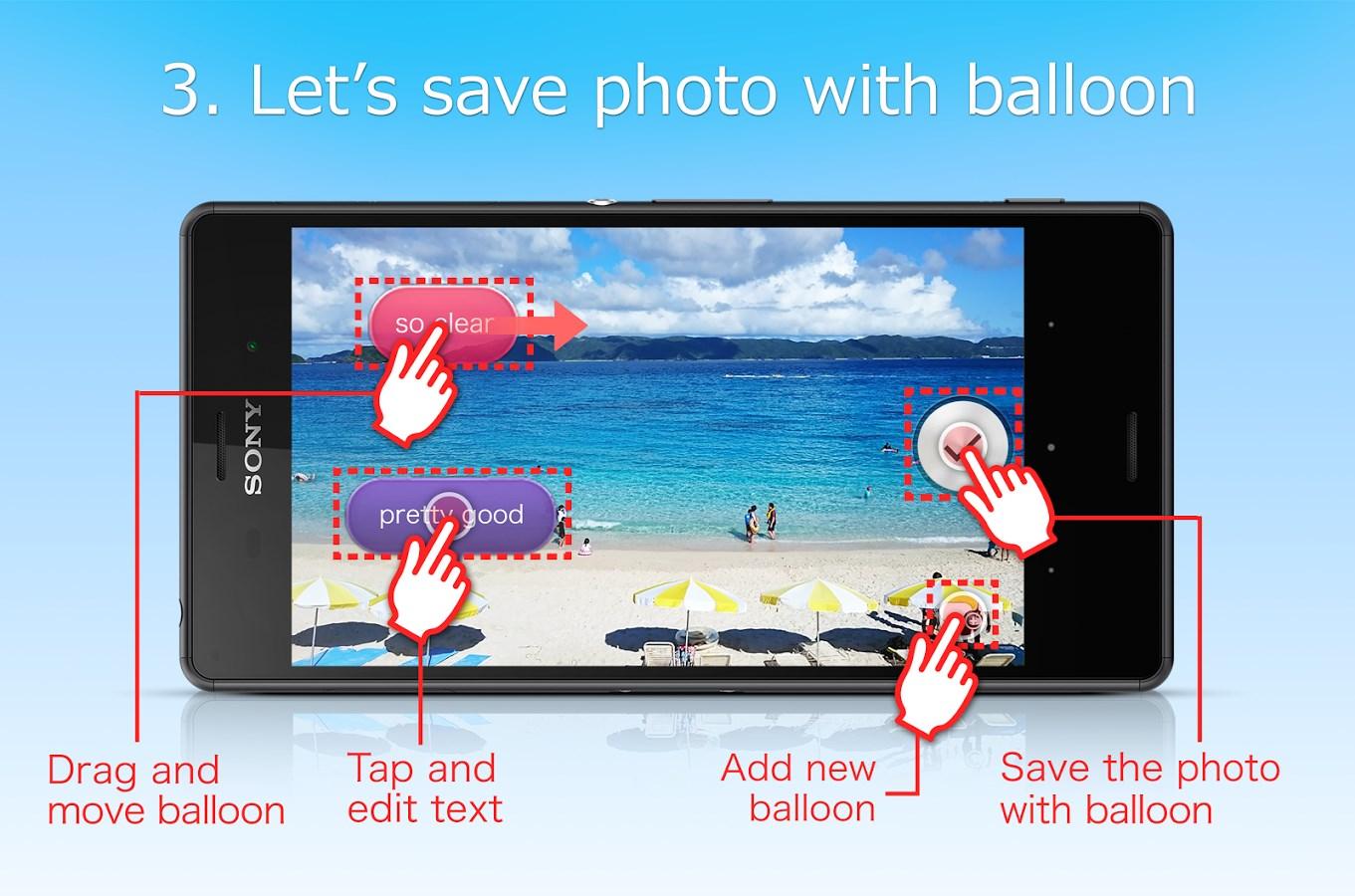balloon photo(beta) - Imagem 1 do software