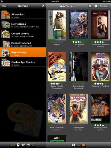 ComicRack - Imagem 2 do software