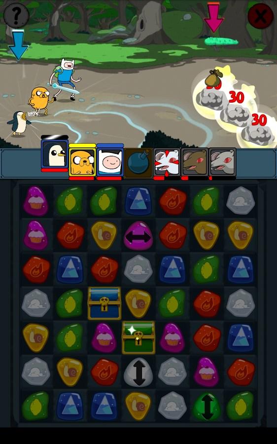 Adventure Time Puzzle Quest - Imagem 1 do software