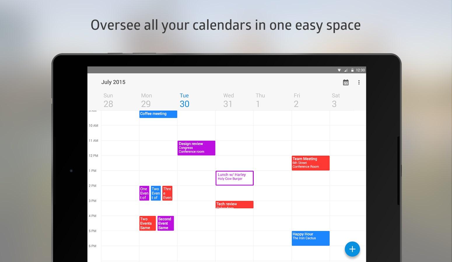 Boxer Calendar - Imagem 1 do software