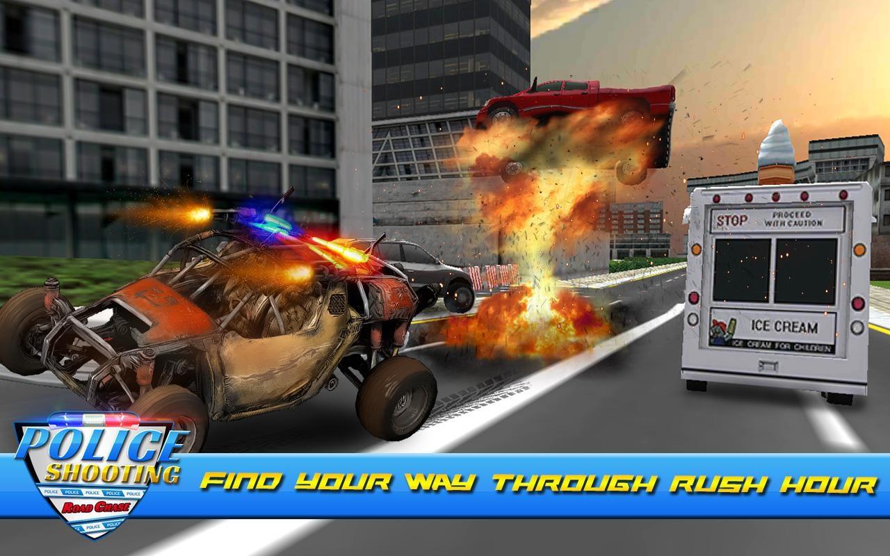 Police Shooting Road Chase - Imagem 1 do software