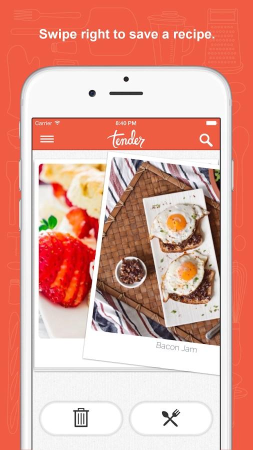 Tender - Food and Recipes - Imagem 1 do software