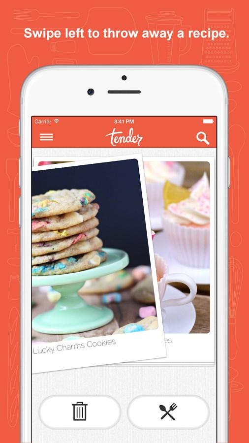 Tender - Food and Recipes - Imagem 2 do software