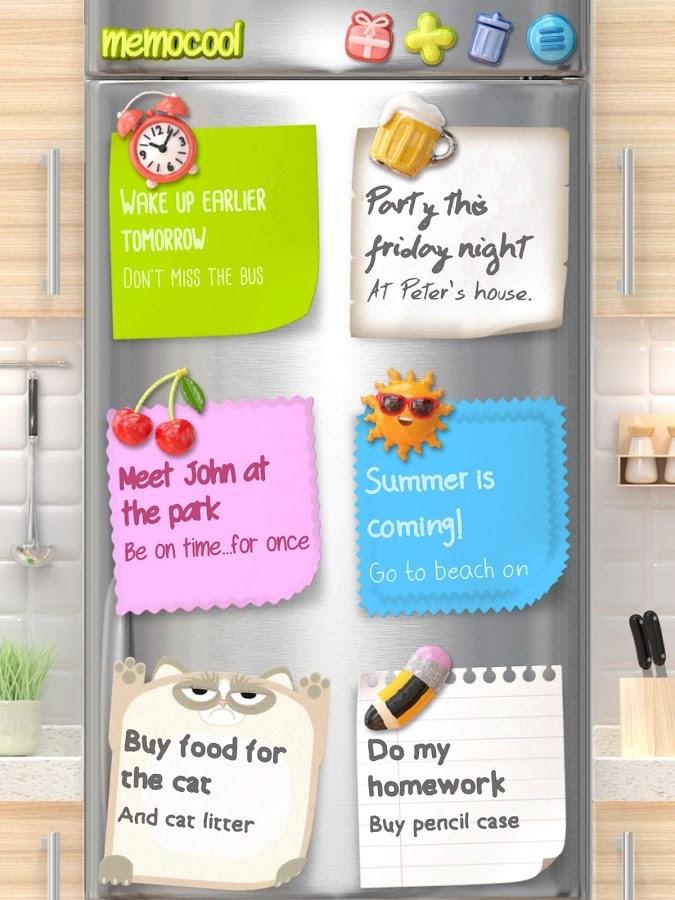 Notas - MemoCool Plus - Imagem 1 do software