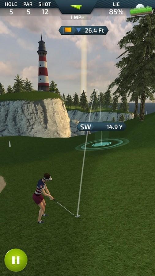 Pro Feel Golf - Imagem 2 do software