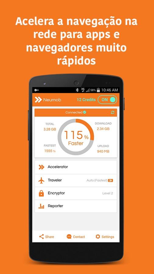 Neumob - Acelere seus Apps! - Imagem 1 do software