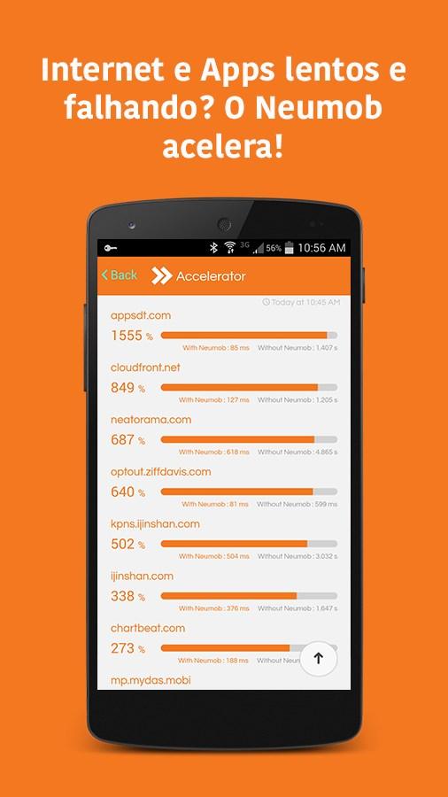 Neumob - Acelere seus Apps! - Imagem 2 do software