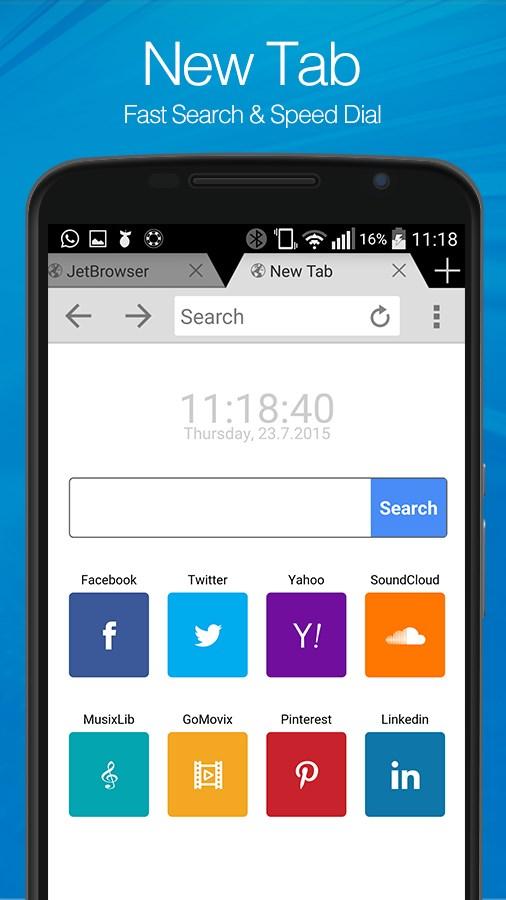 Jet Browser - Imagem 1 do software