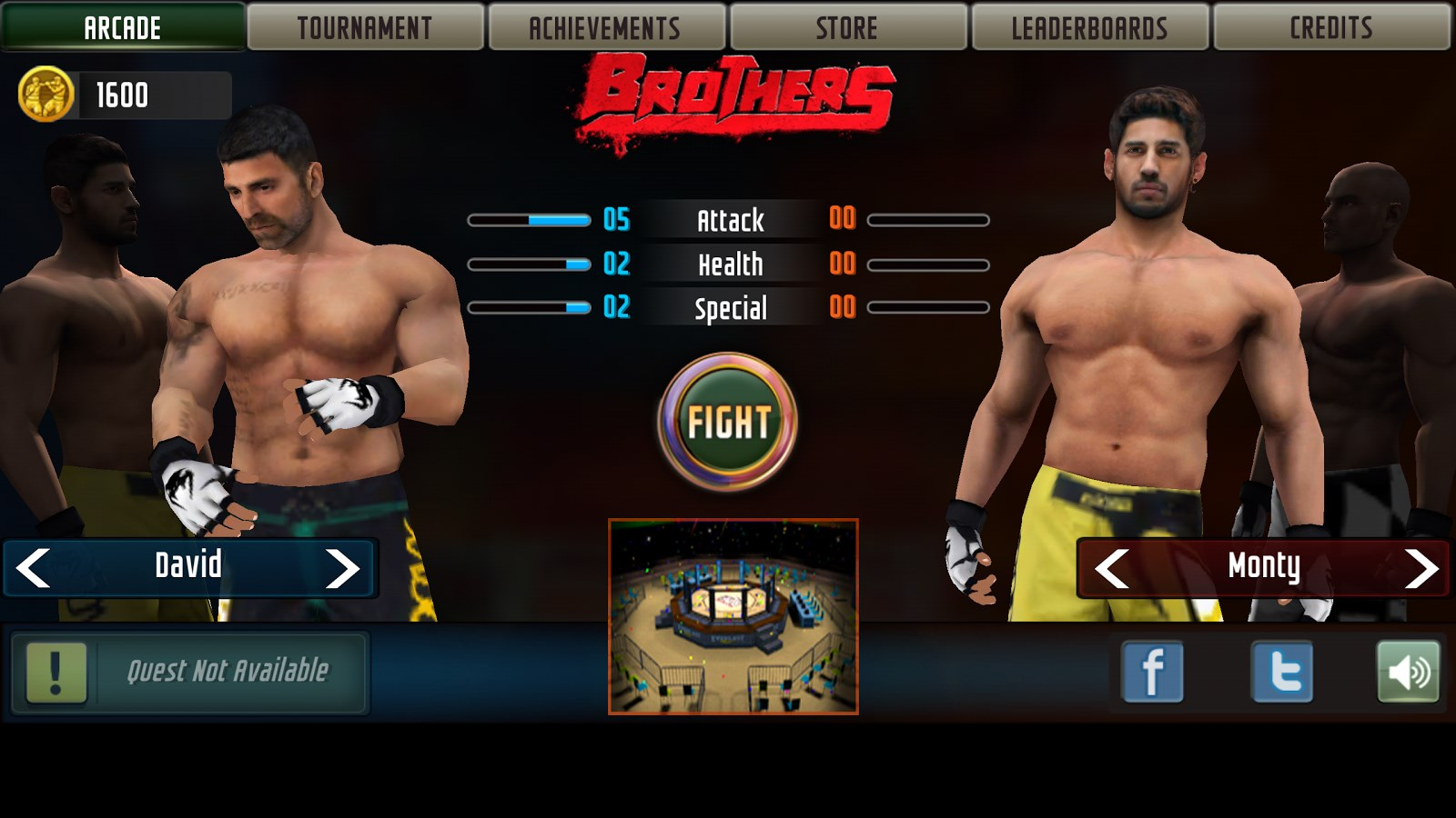 Brothers: Clash of Fighters - Imagem 1 do software
