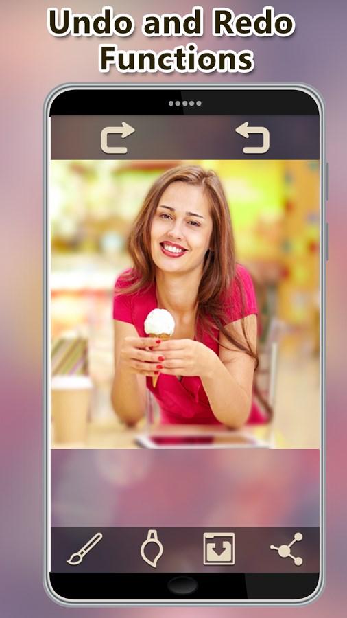 Blur Photo Background DSLR - Imagem 1 do software