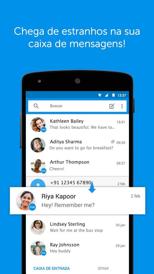Truemessenger - SMS Block Spam - Imagem 1 do software