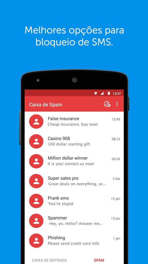Truemessenger - SMS Block Spam - Imagem 2 do software