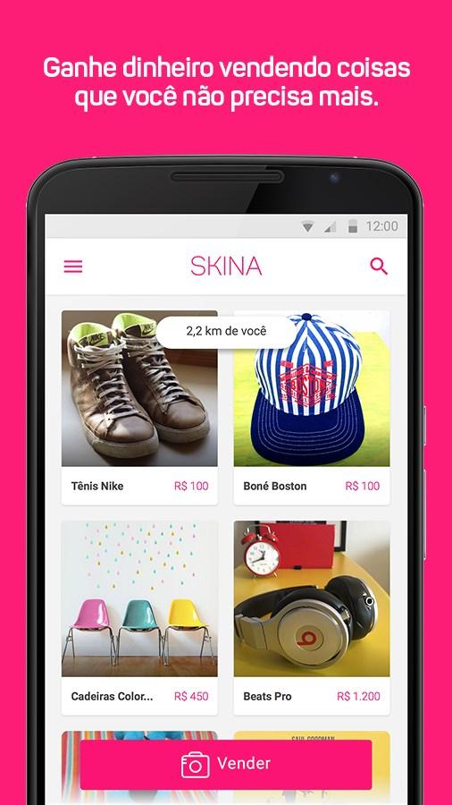 Skina | Vender e comprar perto - Imagem 1 do software