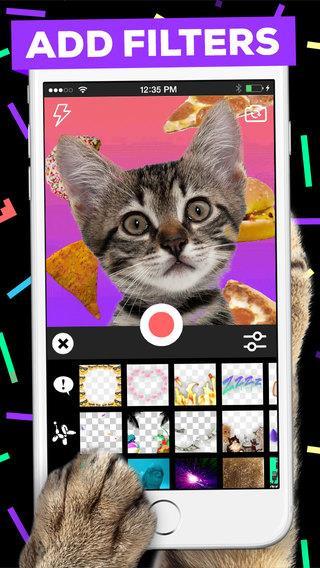 GIPHY CAM. The GIF Camera - Imagem 1 do software