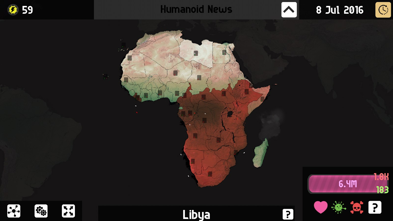 Universe Pandemic Earth Plague - Imagem 1 do software
