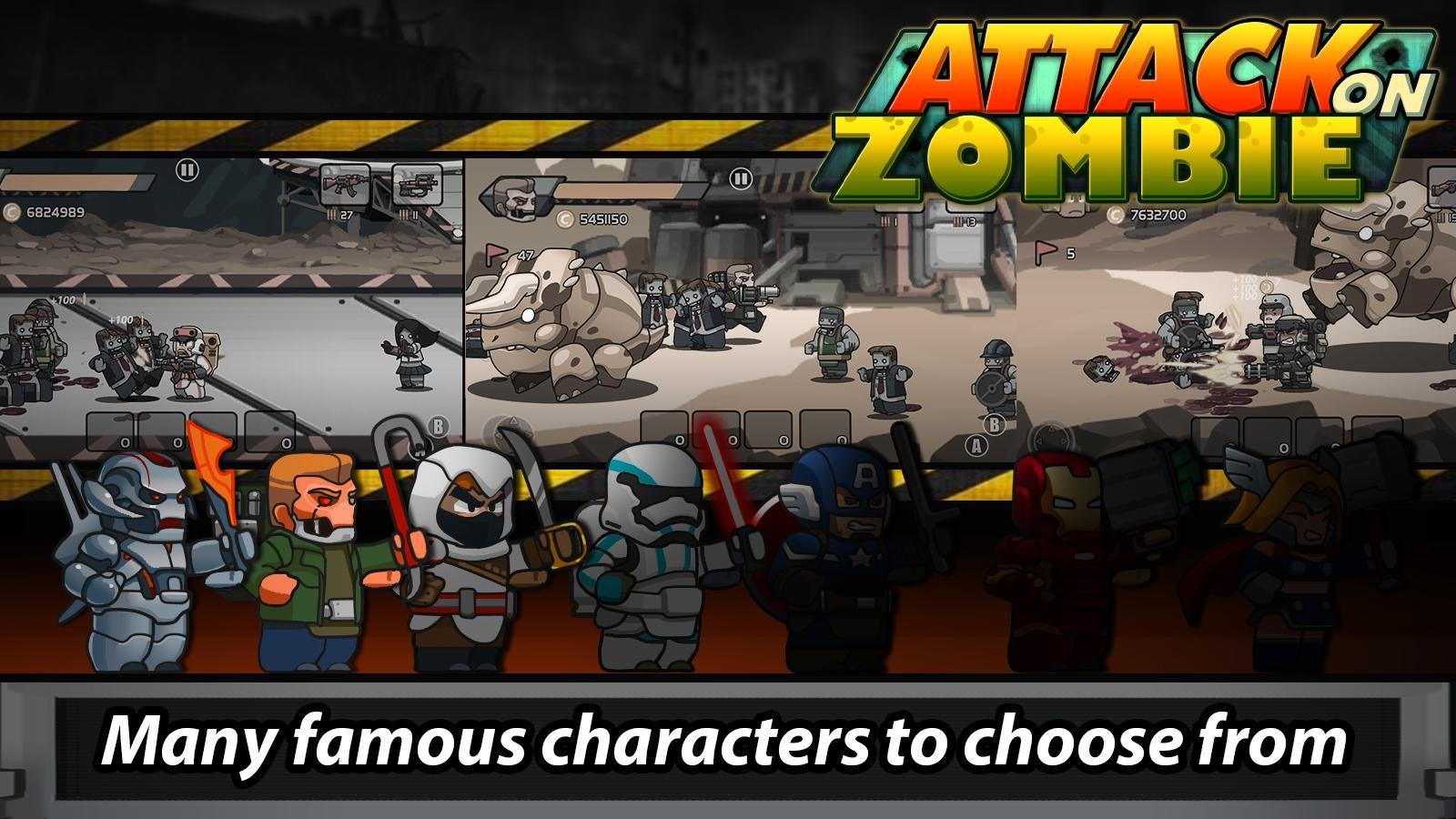 Attack On Zombie: Zombie Avenger - Imagem 3 do software