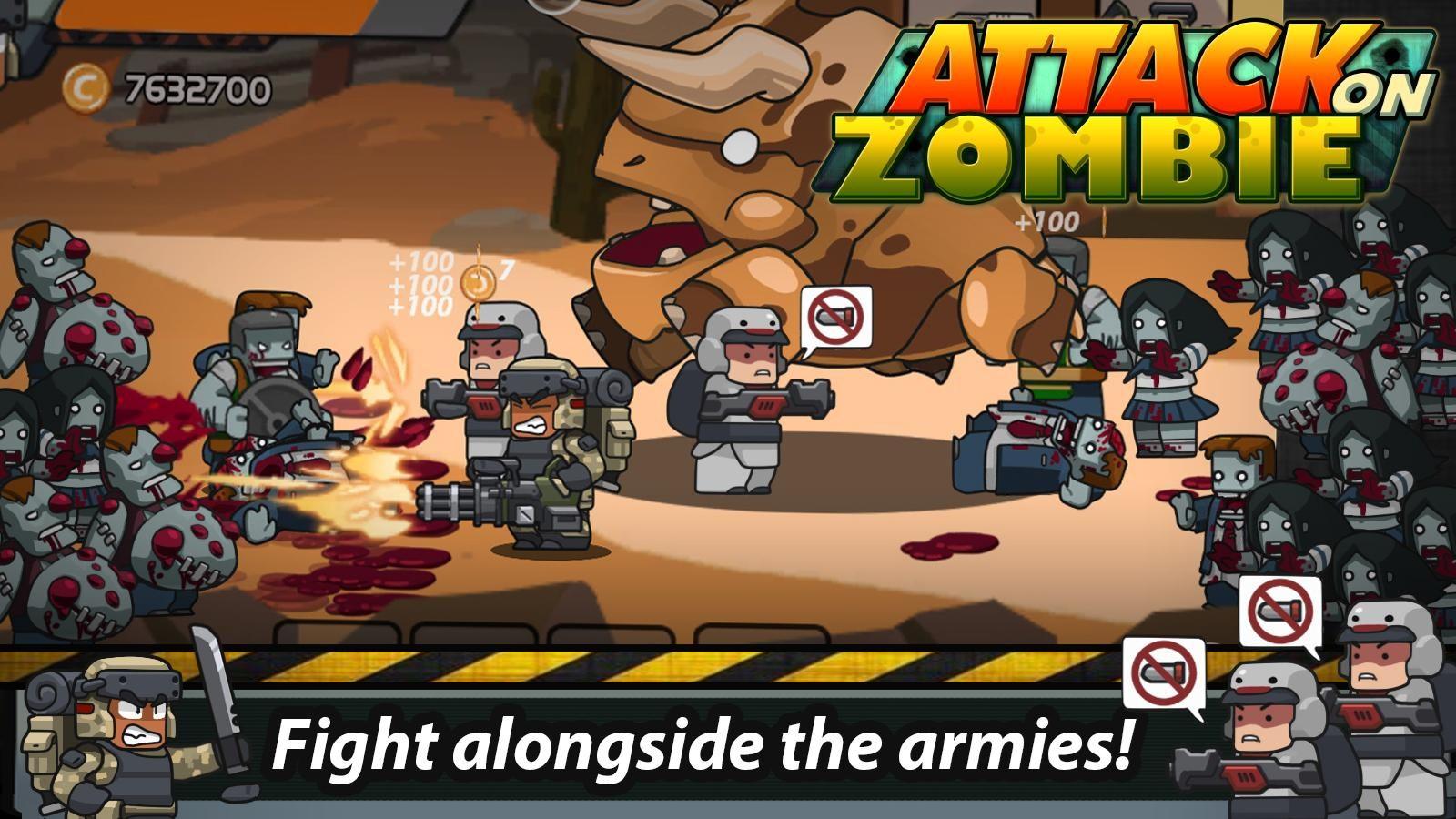 Attack On Zombie: Zombie Avenger - Imagem 1 do software