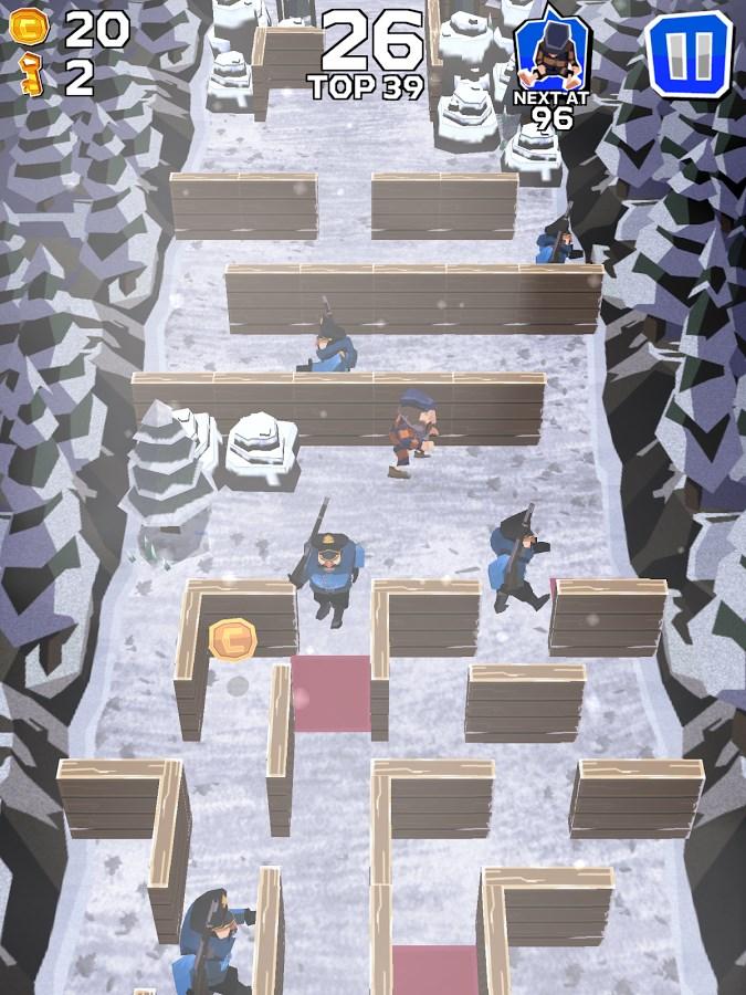 Winter Fugitives - Imagem 1 do software