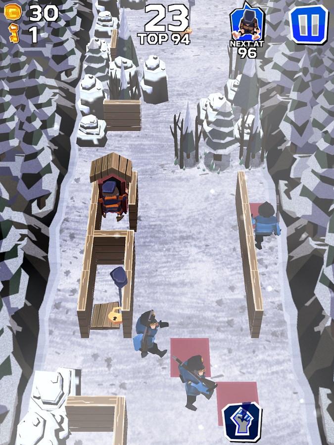 Winter Fugitives - Imagem 2 do software