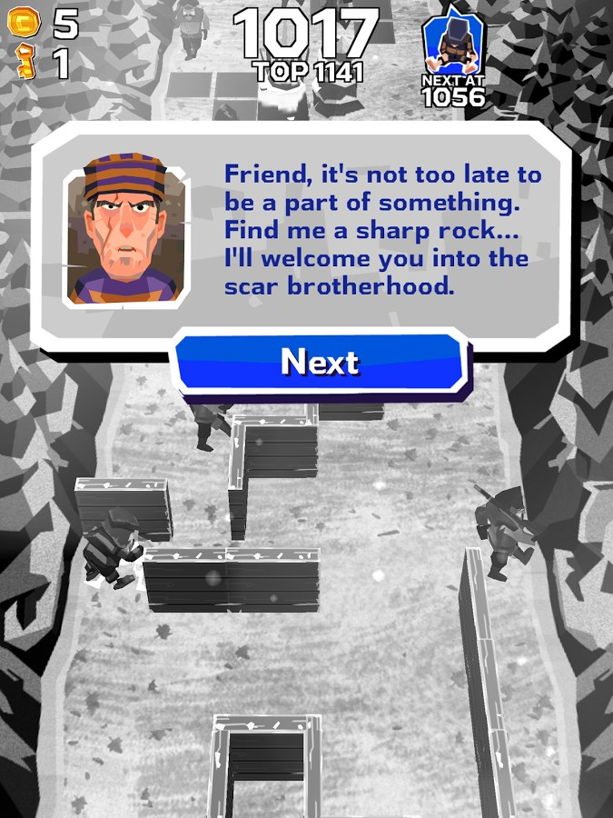 Winter Fugitives - Imagem 4 do software