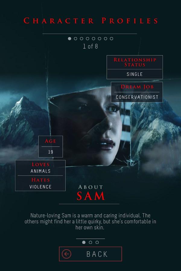 Until Dawn: Your Companion - Imagem 2 do software