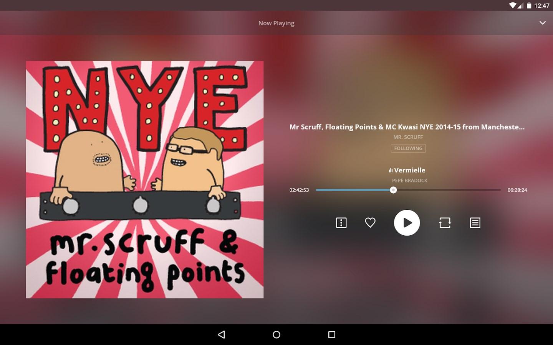 Mixcloud - Rádio e DJ mixes Download para Android em Português Grátis
