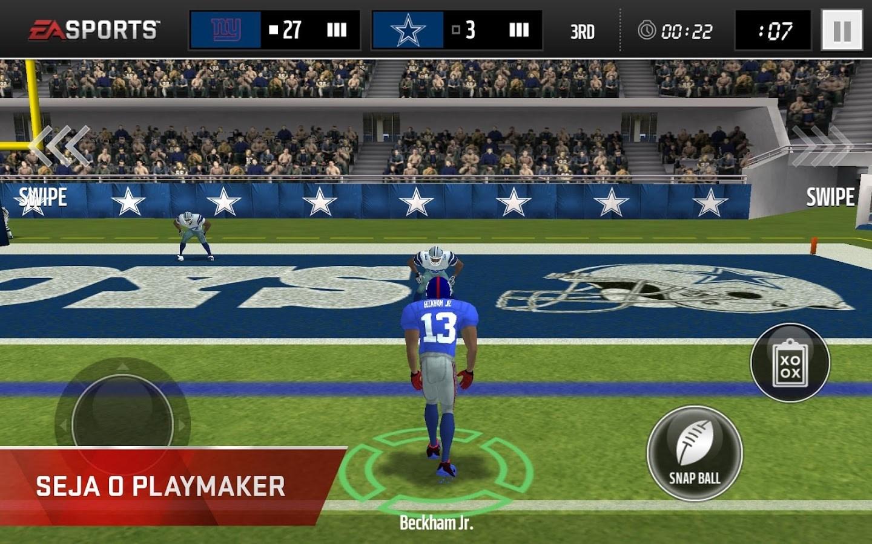 MADDEN NFL Mobile - Imagem 2 do software